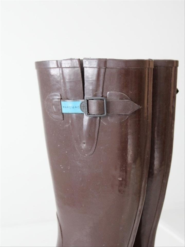 marc jacobs brown boots on sale 71 off boots booties. Black Bedroom Furniture Sets. Home Design Ideas