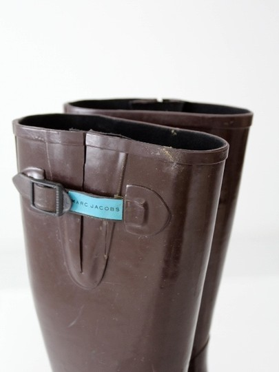 Marc Jacobs Rain Brown Boots