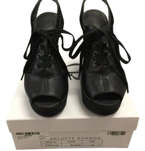 Charlotte Ronson Black Wedges