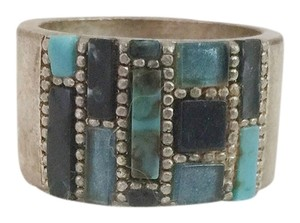 Other Raw turquoise & Silver Ring