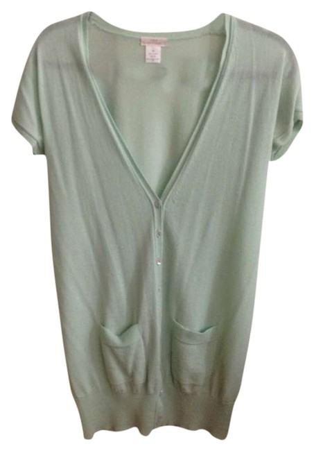Preload https://item2.tradesy.com/images/jcrew-green-or-mint-cashmere-cardigan-size-2-xs-346416-0-0.jpg?width=400&height=650