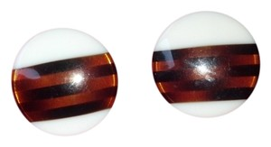 Other Vintage Lucite Button Earrings