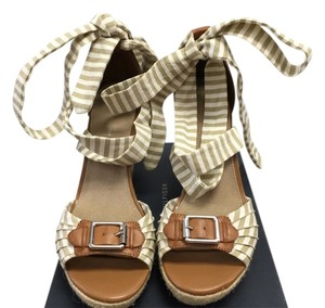 Tommy Hilfiger Designer Brown,Beige Wedges