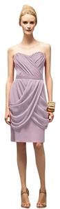 Lela Rose Strapless Lavendar Pink Dress