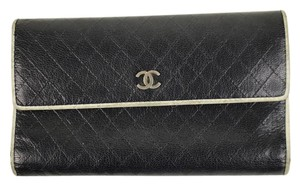 Chanel Quilted Stitch Wallet Classic Flap CCWLM19 166396