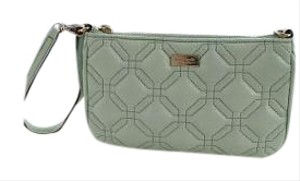 Kate Spade Color Quilted Wristlet in MINT GREEN