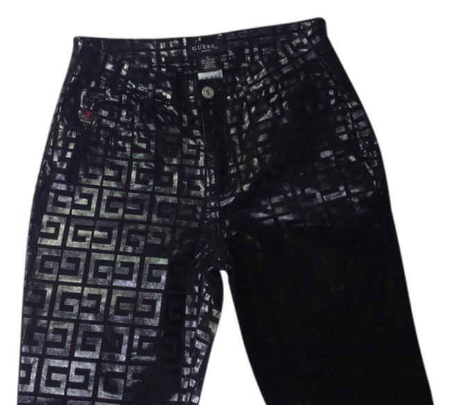 Preload https://item4.tradesy.com/images/guess-black-with-monogram-g-glossy-coated-v0453061-straight-leg-jeans-size-26-2-xs-3464833-0-0.jpg?width=400&height=650