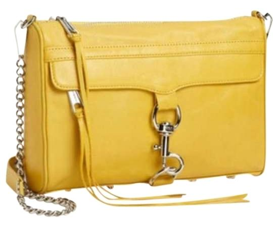 Rebecca Minkoff Mac Yellow Shoulder Bag