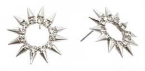 Other MODERN EDGE'S CHIC STONES & SPIKES EARRINGS SET