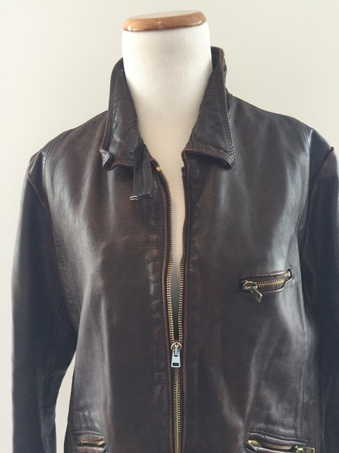 Golden Goose Deluxe Brand Brown Jacket