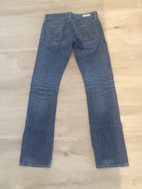 AG Adriano Goldschmied Boyfriend Cut Jeans-Medium Wash