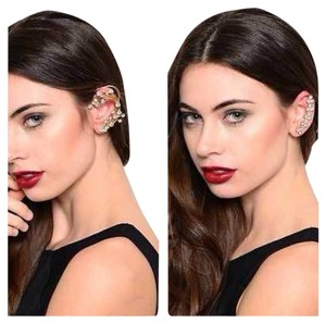 Bundle for 2 Sets Of Gold Rhinestone Ear Cuff
