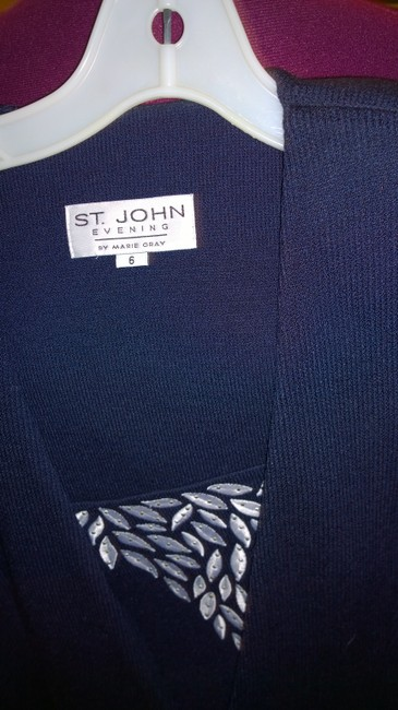 St. John Evening navy Blazer