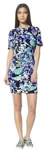 Peter Pilotto for Target short dress Blue Cotton Stretch on Tradesy