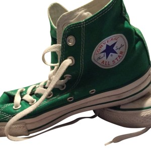 Converse Green White Athletic