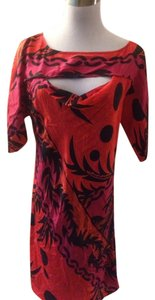 Plenty by Tracy Reese short dress Black/Red on Tradesy