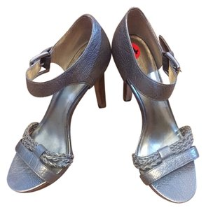 Coach Silver/Grey Pumps
