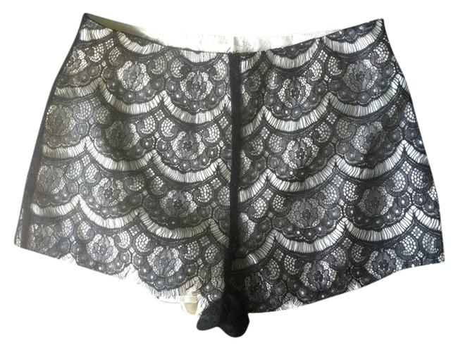 Preload https://item3.tradesy.com/images/lush-black-cream-lace-satin-dress-shorts-size-4-s-27-3467197-0-0.jpg?width=400&height=650