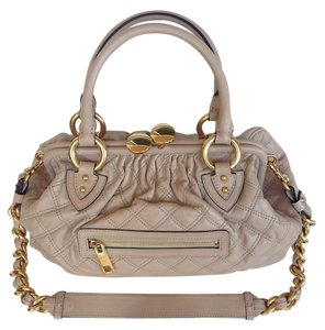 Marc Jacobs Satchel in Bone/blush