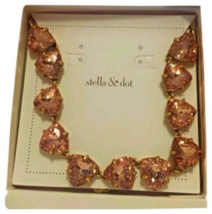 Stella & Dot Stella & Dot Somervell Necklace Peach