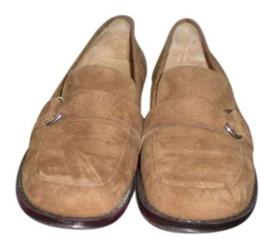 Aerosoles Size 7 Loafers Camel Tan Suede Flats