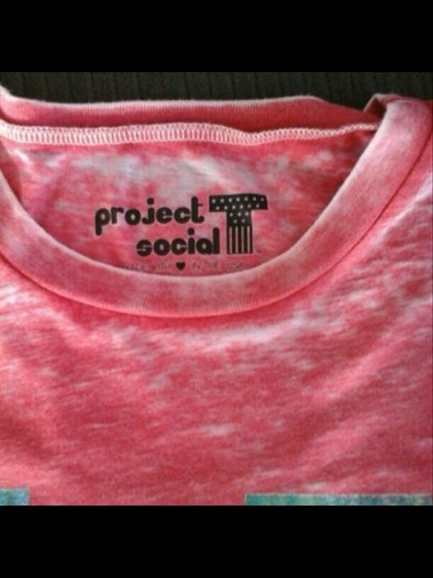 Project Social T T Shirt Red