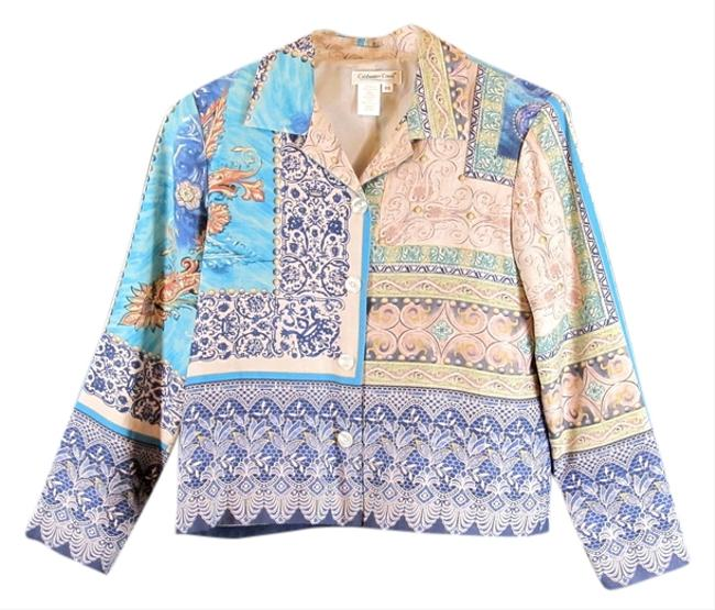 Coldwater Creek Petite Small Multi Color Jacket