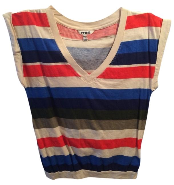 Preload https://item2.tradesy.com/images/forever-21-striped-v-neck-crop-tee-shirt-size-4-s-3468841-0-0.jpg?width=400&height=650