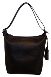 Coach Duffle Leather Shoulder Bag
