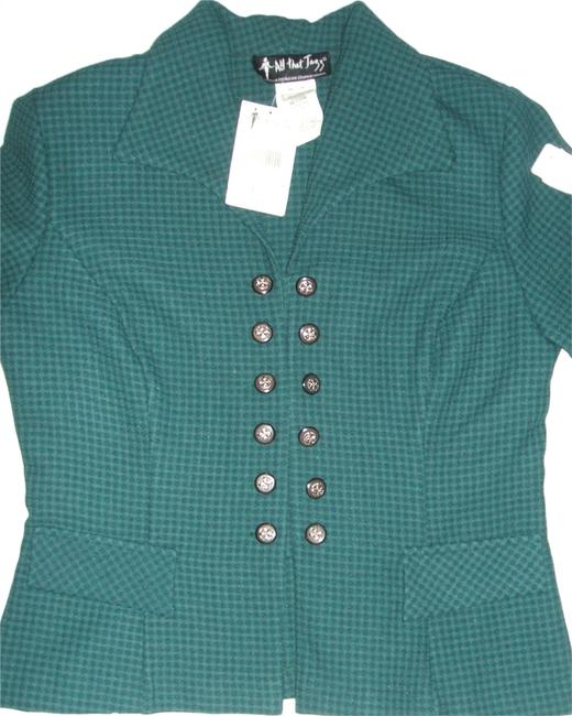 Preload https://img-static.tradesy.com/item/3469267/all-that-jazz-green-women-s-suit-blazer-polyester-lining-910-new-button-down-top-size-petite-10-m-0-0-650-650.jpg