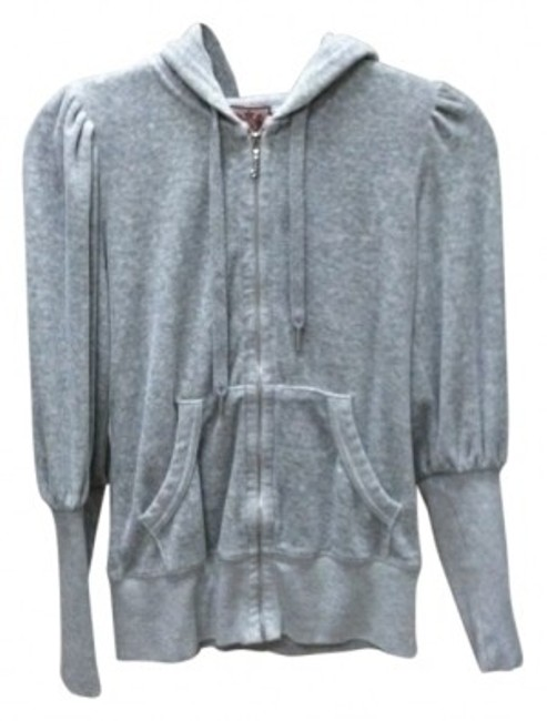 Preload https://item4.tradesy.com/images/juicy-couture-gray-signature-velour-puff-sleeve-sweatshirthoodie-size-4-s-34693-0-0.jpg?width=400&height=650