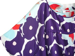 Diane von Furstenberg Top purple multi