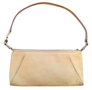 Salvatore Ferragamo Leather Pastel Baguette