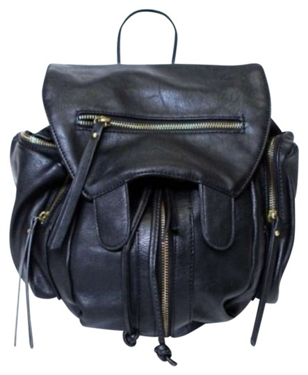 Brandy Melville Leather Backpack