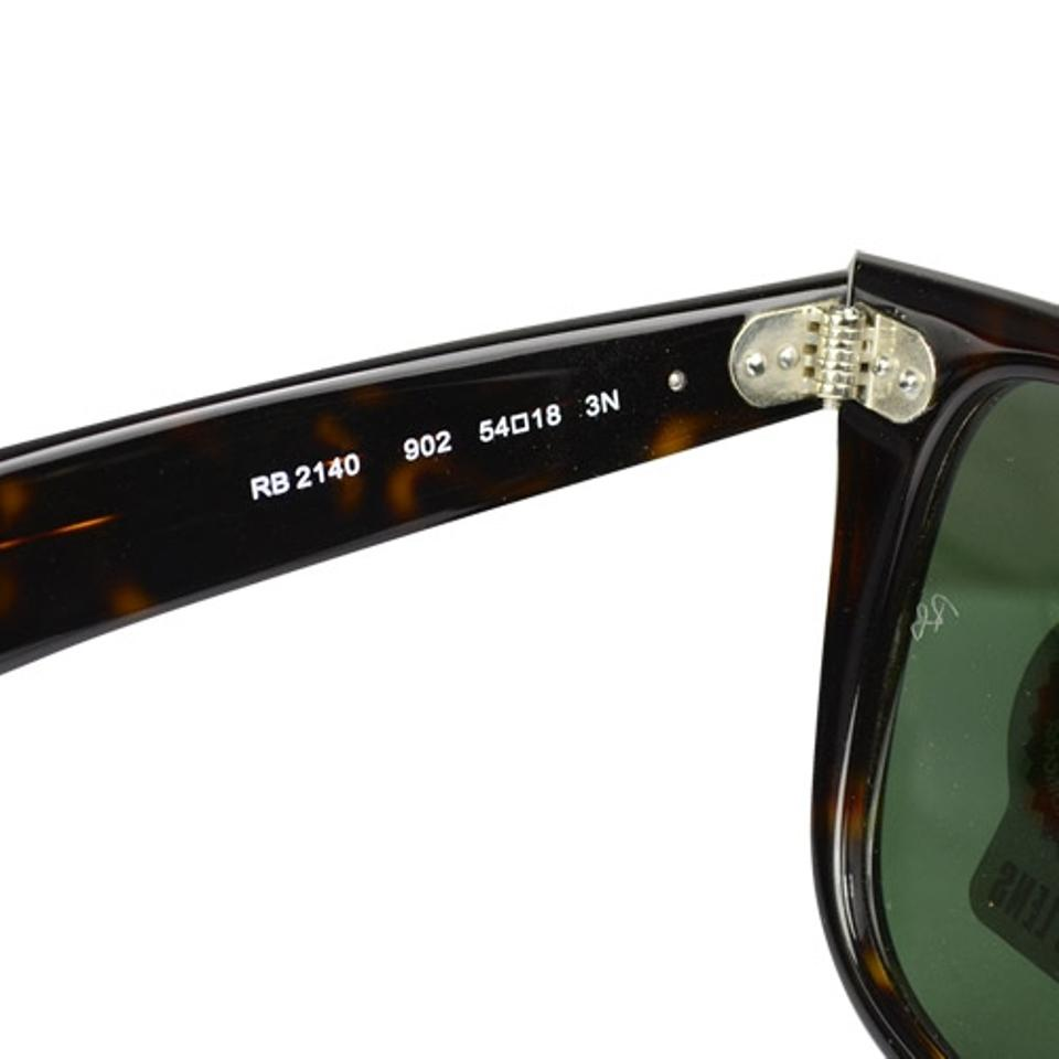 5914b2368 Ray-Ban G-15 Dark Green Lens with Tortoise Frame Wayfarer Rb2140 902/50  Size 54 Sunglasses - Tradesy