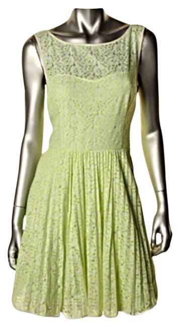 Preload https://item3.tradesy.com/images/betsey-johnson-green-white-lace-sleeveless-knee-length-party-cocktail-dress-size-6-s-3470737-0-0.jpg?width=400&height=650