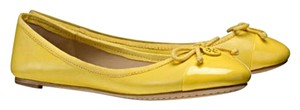 Tory Burch Yellow Candy Flats