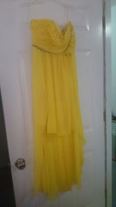 Jessica McClintock Yellow 34005-16 Dress