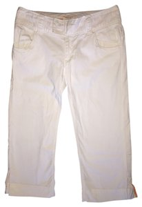 American Eagle Outfitters Capris White
