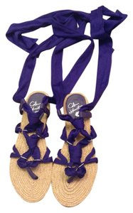 Colin Stuart Purple Sandals