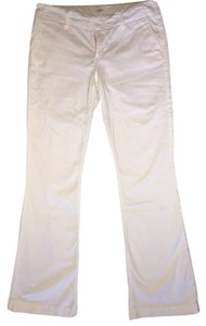 Express Summer Nautical Stretch Khaki/Chino Pants White