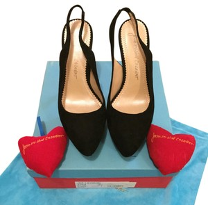 Jean-Michel Cazabat Sleek Slingback Black Platforms