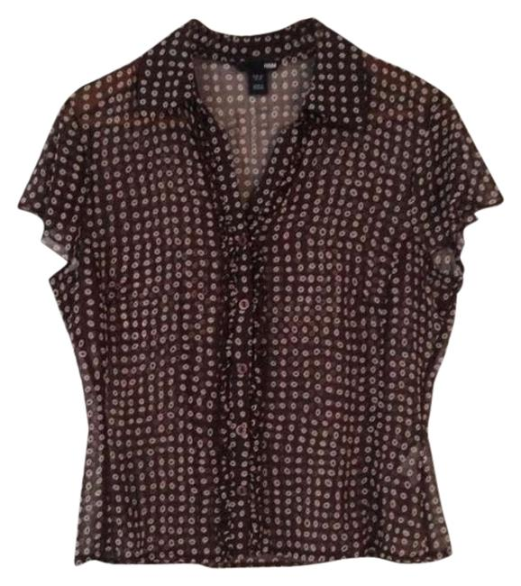 Preload https://item3.tradesy.com/images/h-and-m-brown-polk-a-dot-ruffled-sheer-blouse-size-10-m-347172-0-0.jpg?width=400&height=650