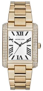 Michael Kors Michael Kors Women's Emery Gold-Tone Stainless Steel Bracelet Watch 40x31mm MK3254