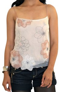 BCBGMAXAZRIA Top beige, peach, black