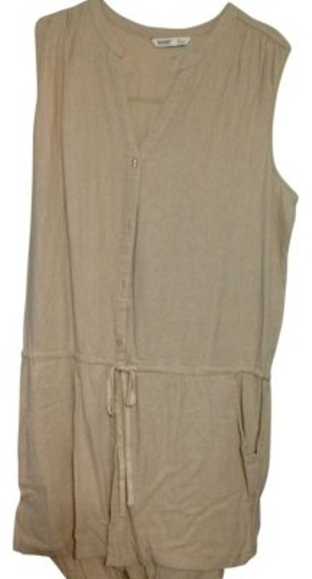 Preload https://img-static.tradesy.com/item/34722/old-navy-khaki-romper-above-knee-short-casual-dress-size-16-xl-plus-0x-0-0-650-650.jpg