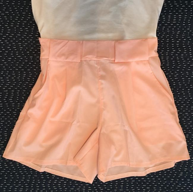 Maurices Booty Sexy Crop Top Pocket Mini/Short Shorts Pink