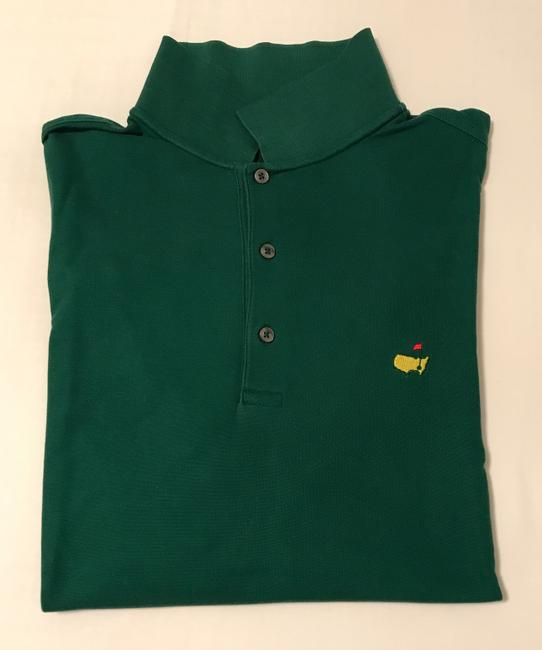 Masters Mens Polo Shirt Mens Dress Shirt Mens Polo Polo Shirt Real Polo Button Down Shirt Green