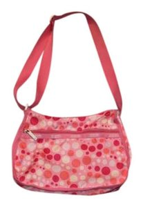 Le SportSac pink Travel Bag