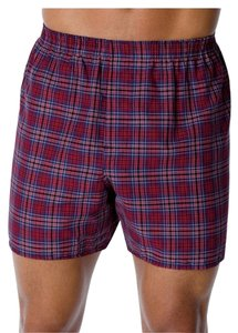 Hanes 2-Pack Hanes Men's Red Label Tartan Boxer Tartan Size S NWT